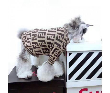 フェンディブランド ドッグウェア Fendi ネコウェア コピー犬用セーターおすすめ