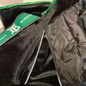 バーバリーブランドペット洋服あったかくて可愛 ブルドッグ服 Burberry  コピージャケット反射ストリップ付き 夜散歩用 安全性高い 冬のお出かけ 防寒ペット服