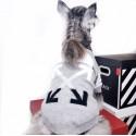 オフホワイト 犬服 ペット服  ドッグウェアふわふわ ペット服フレンチ ブルドッグ防寒着 ブランドOFF WHITE コピー冬暖かい犬用セータープードル 猫服 犬猫用品 小型犬/中型犬向け おでかけ 散歩用