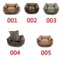 GG ペットソファ 犬猫 冬 フェンディ ペット 角型ベッド 洗える ふわふわ Dior ベッド角型Mサイズ FF柄 犬 ベッド角型 バーバリースーパーコピー ベット用品 模様 寝具 かわいい 暖か