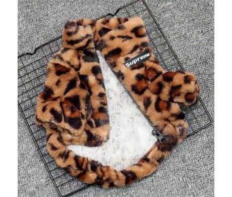 シュプリーム 犬用 もふもふ ヒョウ柄ペット服 と超かわいいスSnoopy柄 ペット洋服 おすすめ