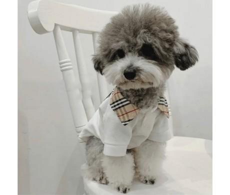 ブランド Supreme ペット服 バーバリーペット洋服 ドッグセーター おすすめ