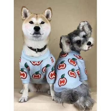 グッチブランド もこもこ犬服 ペット散歩用Gucciコピー ペット用品 小型犬 スフィンクス ふわふわ冬 おでかけ 暖かい犬用セーターコピー猫グッズ ドッグウェア 長袖