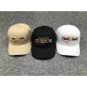 スーパーコピーブランド グッチ ベースボールキャップ 帽子刺繍入り黒白ペアお揃い男女兼用メンズレディース