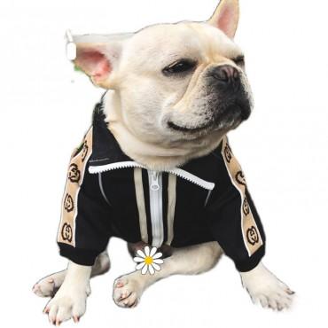 GG 犬服 ワンちゃん用 ドッグウェア ベーシック ジップアップ チワワ ダックス gg トイプードル マルチーズ 夏服 傷なめ防止 抜け毛対策 小型犬 ペット服