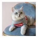 Supreme 犬猫服 Tシャツ 洋服 ブランド ドッグウェア ボックス シュプリーム ペット服ロゴtシャツ ホワイト/グレー/ブラック 韓国 通販 T-shirt 半袖 ストレート系 パロディ