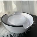 CHANEL ブランド ペット食器 フードボウル ステンレス製 スチール シャネル ハイブランド 水入れ 滑り止め 餌皿 小中型犬 猫犬用 ペット用品 ホワイト色