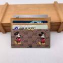 GG&ドラえもん ブランド 財布型 カード収納ケース クレジットカード gg&ディズニー 電車カード入れ トランプ ミッキーマウス おしゃれ ドナルドダック 小物収納 防止 カジュアル メンズ レディース