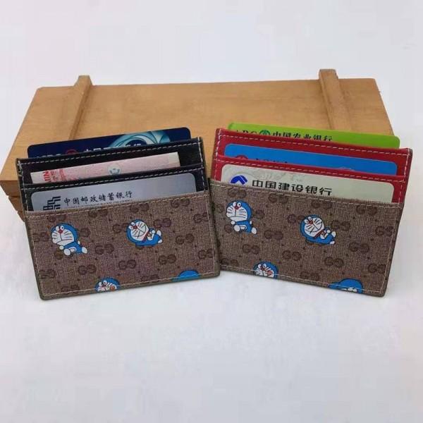 グッチ&ドラえもん ブランド 財布型 カード収納ケース クレジットカード グッチ&ディズニー 電車カード入れ トランプ ミッキーマウス おしゃれ ドナルドダック 小物収納 防止 カジュアル メンズ レディース