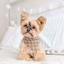 GG バンダナ 三角綿 ブランド よだれかけ 犬の首輪 おしゃれ バンダナ 中小子犬 ペット用品 スカーフ付き 犬猫対応 テディ チワワ シュナウザー S-L