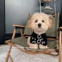 ブランドシャネルペット用品犬服Tシャツ丸首おしゃれ 夏対策 薄手chanelプリント 綿製 猫服 テディ ポメラニア ブルドッグ 中小型犬対応トップス 通気性 上着 ファッションペットウェアxs-2xl