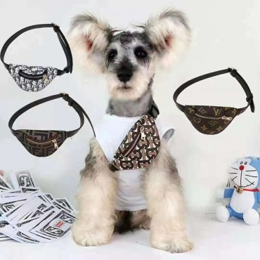 ディオール ブランド ペット用品 犬バッグ ヴィトンペット革鞄 モノグラム バーバリー 犬斜め掛けバッグ fendi猫犬用 レザーバッグ お出かけ 収納バッグ おしゃれ ドッグ用品 ミニ鞄 テディ ポメラニアン 中小型 ペット適応
