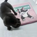ブランド シュプリーム ペット ベッド マット 猫犬用品 マットかわいい ワンちゃん柄  冷感 supreme 猫 犬 クールマット 洗える 通気性 かわいい 滑り止め カーペット