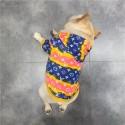 贅沢ブランド ルイヴィトン ペット服 犬用パーカー 暖かい 保温 かわいい 春秋 経典モノグラム グラデーション lv 犬服 猫 洋服ファッション 小中型 ペット