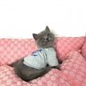 LV ルイヴィトン ブランド ペットウェア 犬服 猫の秋冬服 暖かい 犬パーカー かわいい ドッグウェア コート 厚手 保温 ふわふわ 裏毛 柔らかい 通気性 上着 ペット服 洋服 小中型 ペット