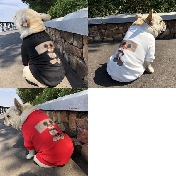 ブランドGG ペット用品 ペットウェア 犬服 犬の秋春服 猫服  洋服 パーカー トレーナー 小型犬 中型犬 暖かい ディズニーコラボ 犬の服 猫の服 かわいい Tシャツ 犬猫用 ペット服 ドッグウェア  暖かい 人気 お出かけ