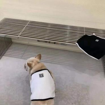 シャネル ブランドコピー ペット服 犬ベスト キュート かわいい ペットウェア 洋服 小型犬用 猫服 チョッキ 綿製 お洒落 夏対応 薄い 個性 高級 シンプル Chanelラベル付き ふわふわ 通気性 薄手