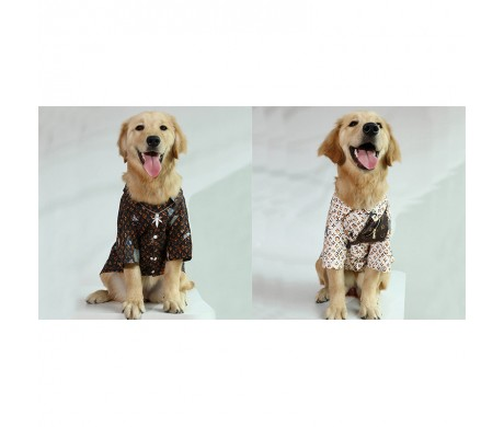 ルイヴィトン ブランド 猫犬服と ディオール ペット 首輪セット