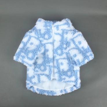 ディオールブランドペット用品 犬服 Tシャツ dior 犬用パーカー 洋服 秋冬服 防寒 コート 人気 ファッション かわいい 柔らかい 暖かい ファスナー 着脱やすいs-xxl