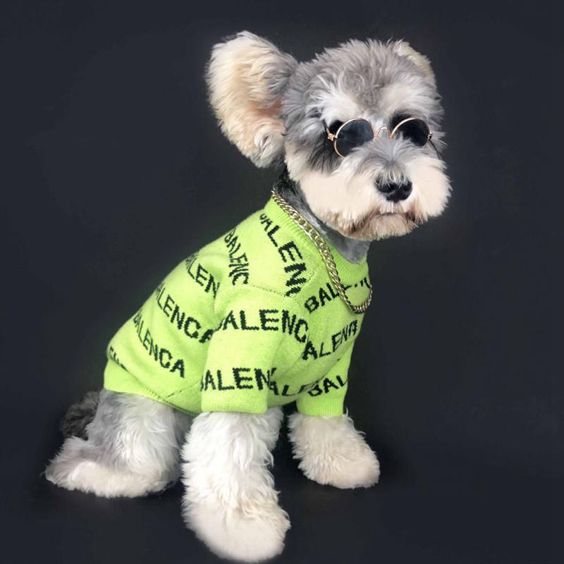 バレンシアガ BALENCIAGA 犬着服 ペット服 ブランド ニットセーター
