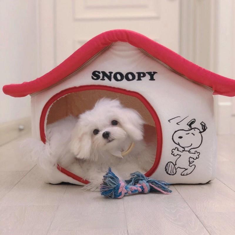 スヌーピーかわいい ドームハウス ペット