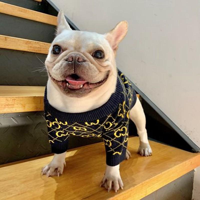 gg 犬服 ブランド ペット散歩用冬 おでかけ 暖かい犬用セーターコピー