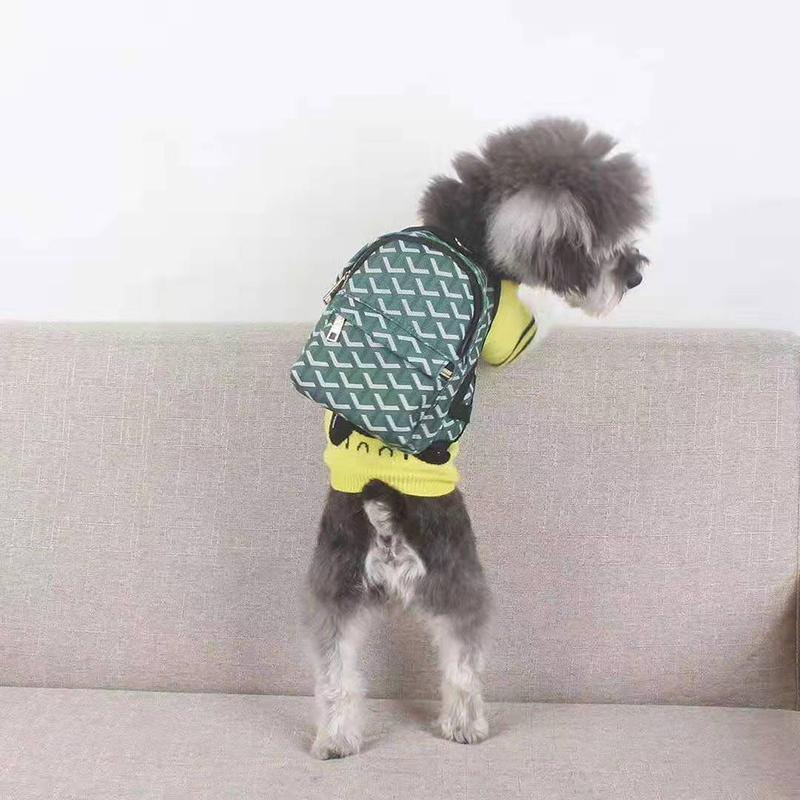 ゴヤール ブランド 犬のバッグ 犬のお散歩グッズ 小中大型犬に向け コピー GOYARD キャンバス製 ミニバッグ コピー