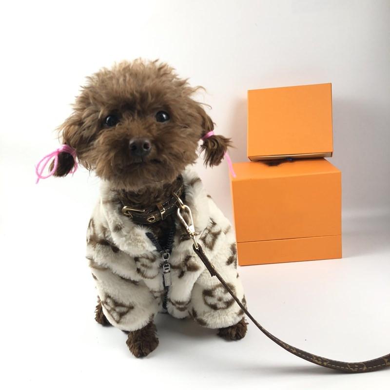 ルイヴィトン風 LV 犬のリード お散歩グッズ 犬首輪リード 小中大型犬