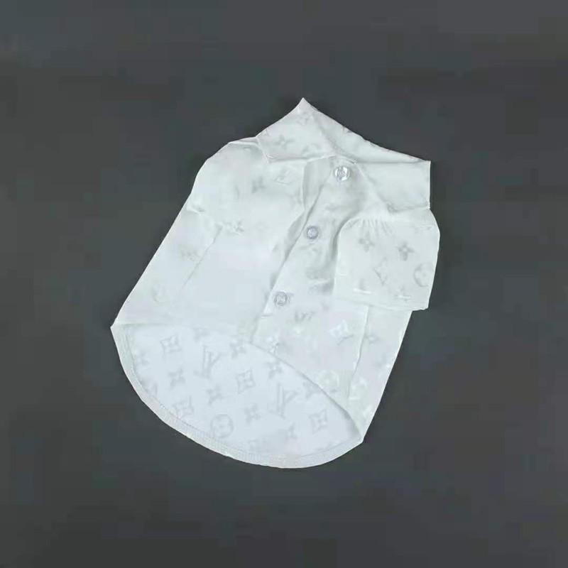 ルイヴィトンlv猫犬シャツ ブランド ペット服 散歩用 おでかけ 皮膚病犬 猫犬用ラペル ポロシャツ ペット散歩用 コピー
