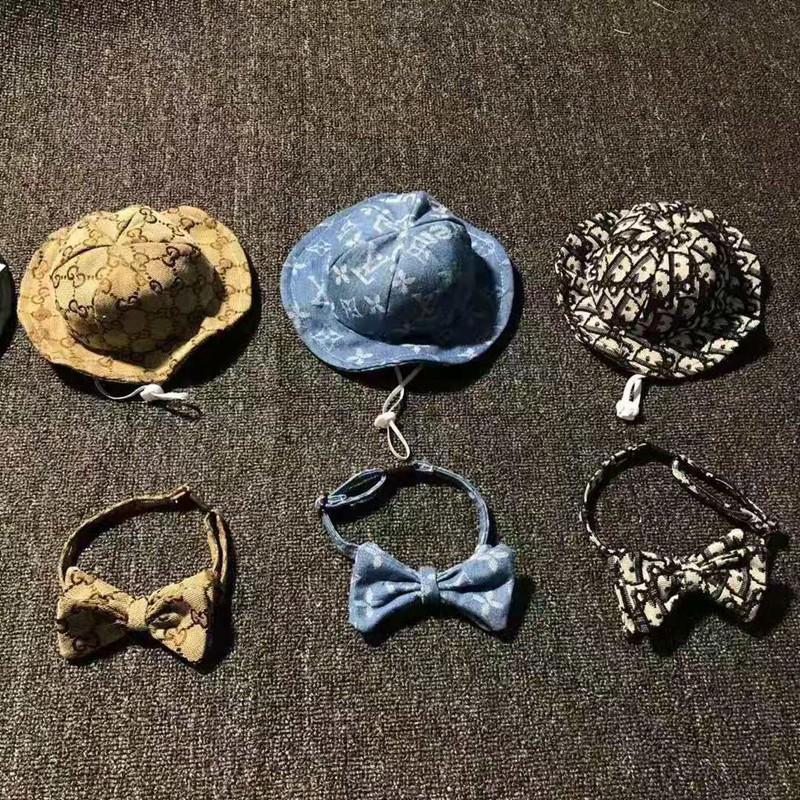 ハイブランドペット用品ディオール犬の帽子