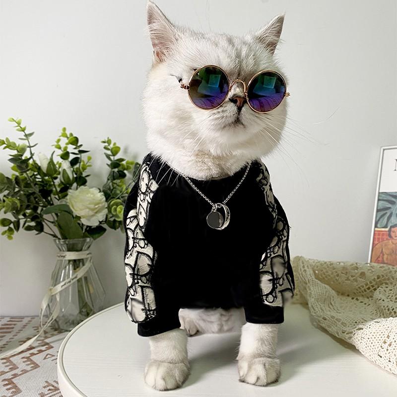 diorペット服長袖犬服パーカーかわいい